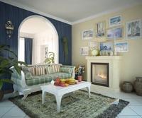 Condo Living Room 423 3D Model