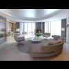 Condo Living Room 424 3D Model