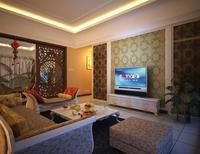 Condo Living Room 425 3D Model