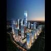 Building Night Cityscape 086 3D Model