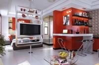 Condo Living Room 433 3D Model
