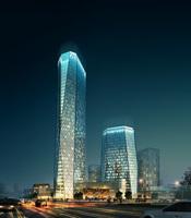 Building Night Cityscape 087 3D Model