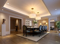 Condo Living Room 434 3D Model