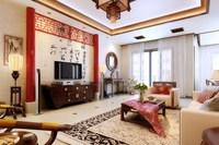 Condo Living Room 436 3D Model