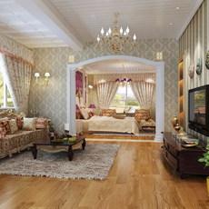 Condo Living Room 439 3D Model