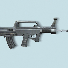 China 95 rifle 3D Model