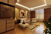 Condo Living Room 446 3D Model