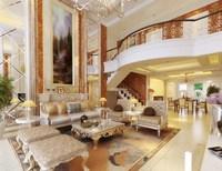 Condo Living Room 447 3D Model