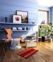 Condo Living Room 452 3D Model