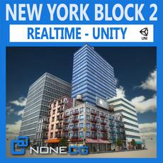 NYC Block #2 Unity 3D Model