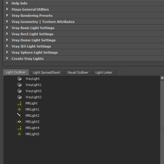 Auxilium:Maya Lighting and Rendering Tool for Maya 1.0.8 (maya script)