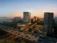 Building Night Cityscape 090 3D Model
