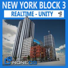 NYC Block #3 Unity 3D Model