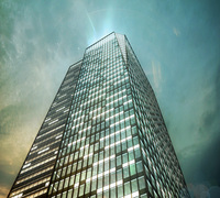 Building Night Cityscape 093 3D Model