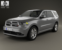 Dodge Durango RT 2014 3D Model