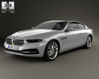BMW Gran Lusso Coupe 2013 3D Model