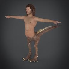 fantasy character mamiya 3D Model