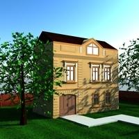 3d building 3D Model