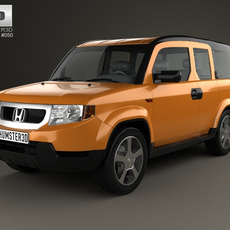 Honda Element EX 2008 3D Model