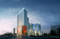 Building Night Cityscape 111 3D Model