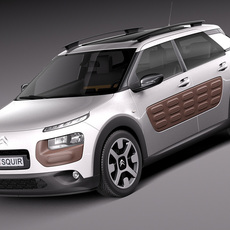 Citroen C4 Cactus 2015 3D Model