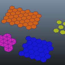 Hexagon Grid Creator for Maya 2.1.0 (maya script)