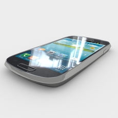 Samsung I8200 Galaxy S III mini VE 3D Model