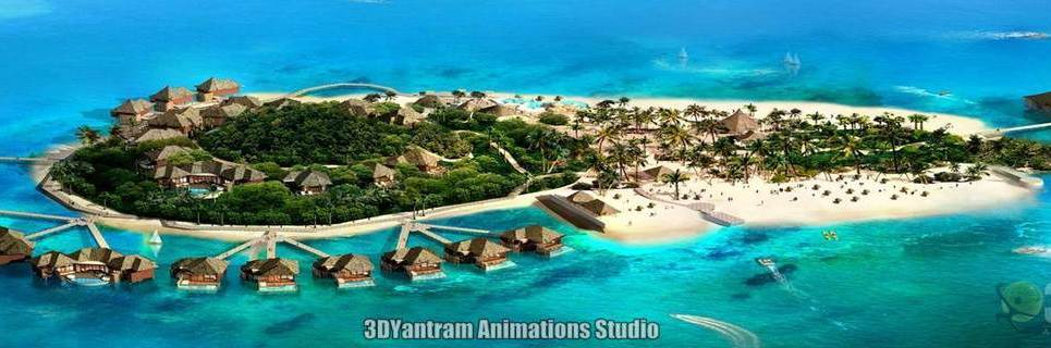 3d modeling arial view design show