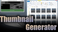 3D Thumbnail Generator (batch script) for Maya 0.3.1 (maya script)