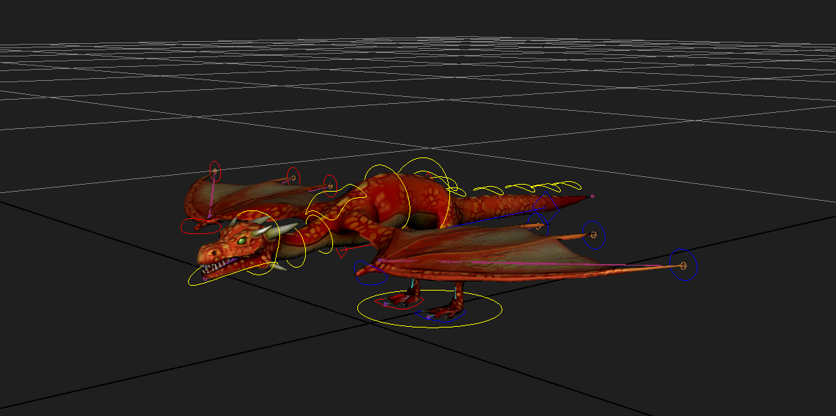How to make and rig a dragon