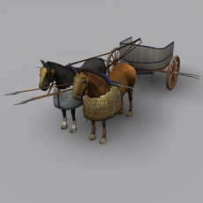 Schyted chariot 3D Model