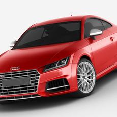 Audi TTs 2015 3D Model