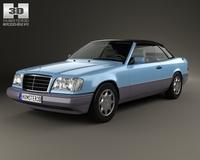 Mercedes-Benz E-class convertible 1993 3D Model