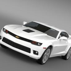 Chevrolet Camaro Coupe EU 3D Model