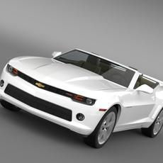 Chevrolet Camaro RS Convertible 2014 3D Model