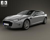Aston Martin Rapide Bertone Jet 2+2 2013 3D Model