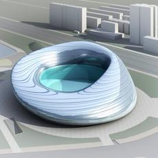 Building Cityscape 307 3D Model