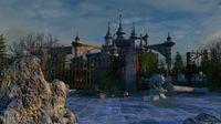 Abandoned Castle Scene 3D Model
