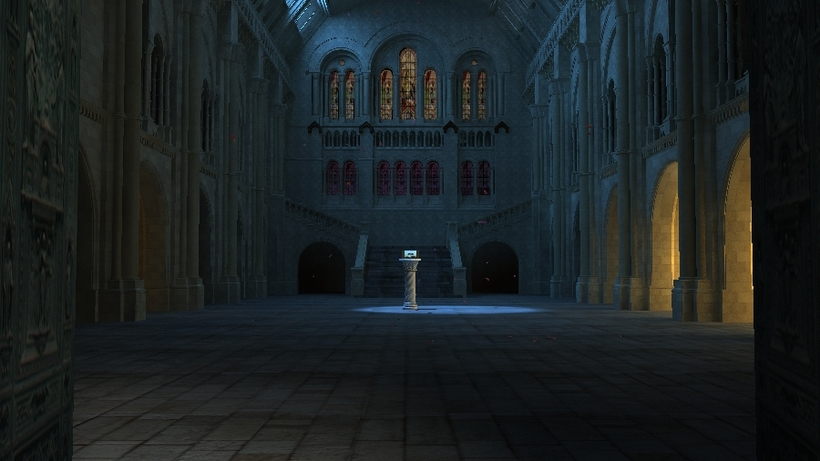 Castle Interior 3D Model