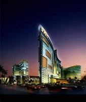 Building Night Cityscape 318 3D Model