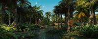 Wetland scene 3D Model