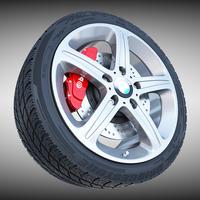 BMW Wheel 3D Model