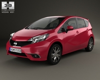 Nissan Note Dynamic 2013 3D Model
