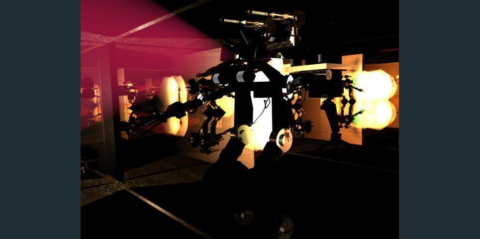 Robot tech show