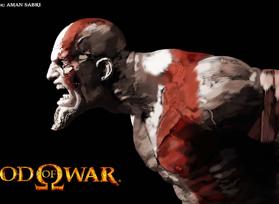Kratos  the ghost of sparta by aminatm copy show