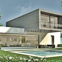 Modern exterior house model design cover