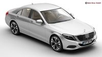 Mercedes S Class 2014 3D Model