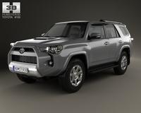 Toyota 4Runner 2013 3D Model