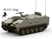 M-113 Stug 3D Model