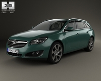 Opel Insignia Sports Tourer 2013 3D Model